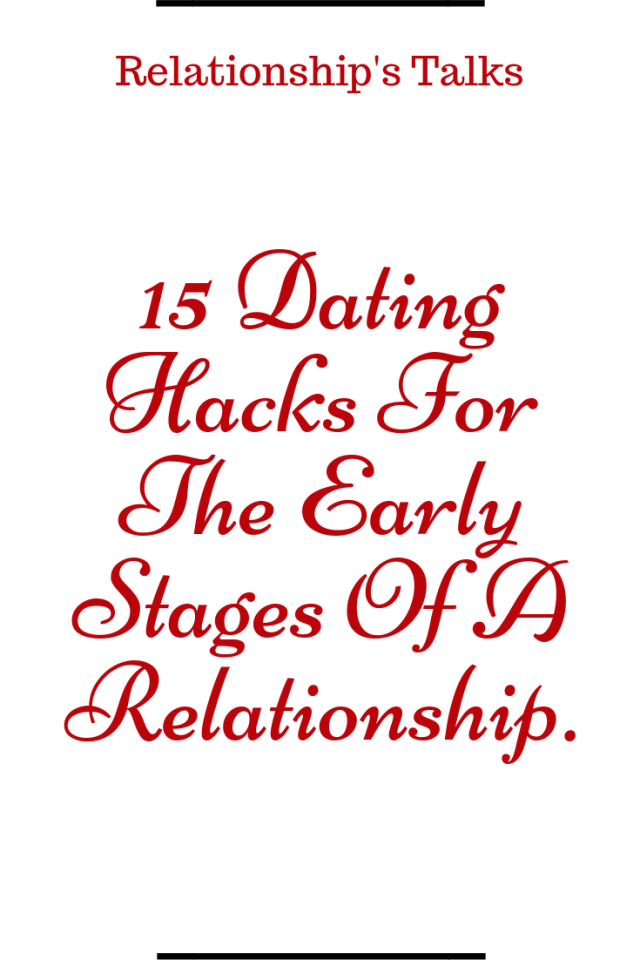 Early dating quotes
