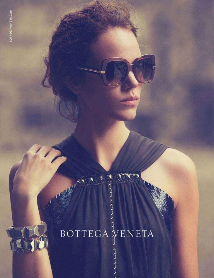 Freja Beha Erichsen for Bottega Veneta Eyewear Spring Summer 2013