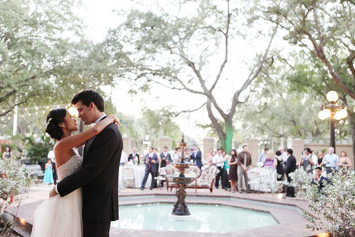 Alexis David S Ybor Garden Museum Wedding Vine Light Photography