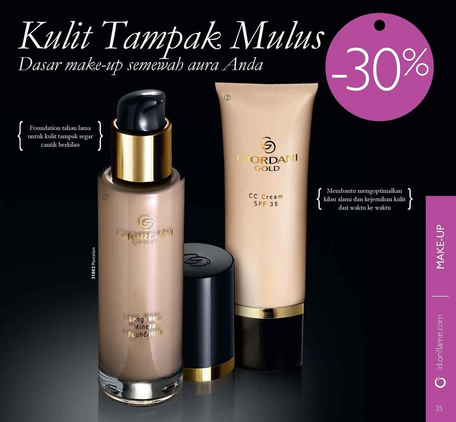 Katalog Oriflame Cosmetics Oriflamebeauty Pinterest Giordani Gold Cc Cream Spf 35