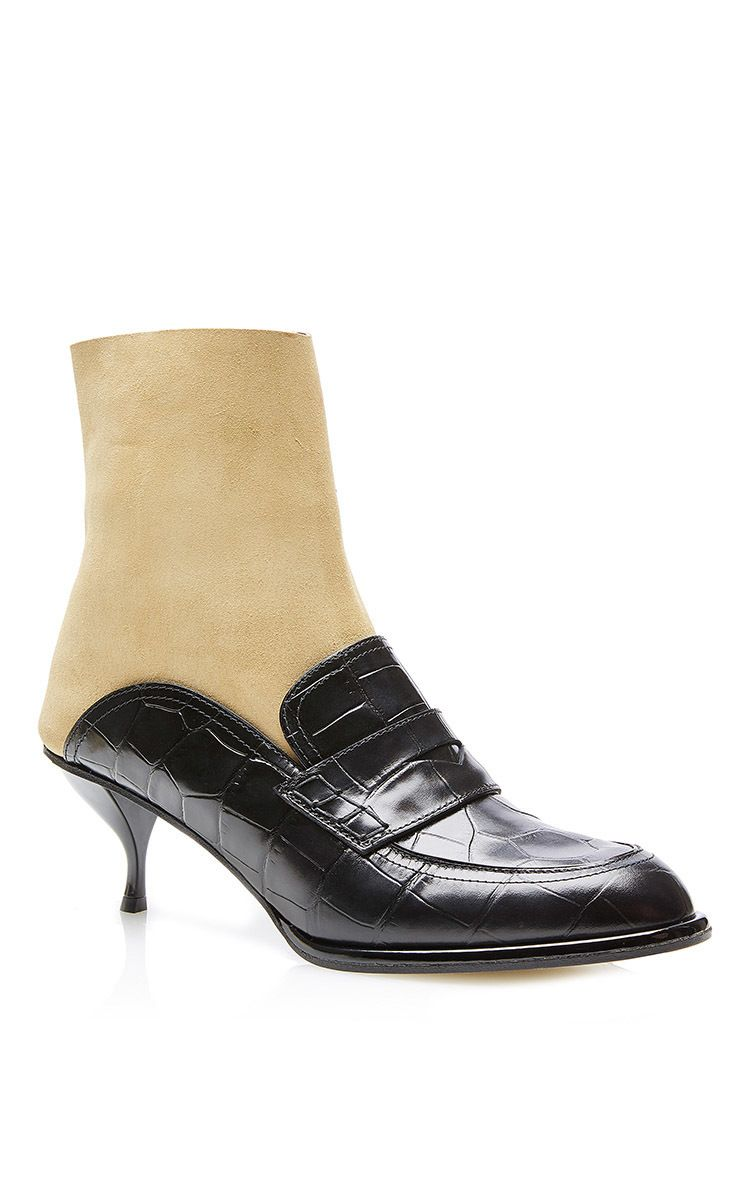 Low heeled sock boot loafer Loewe m0yO0x