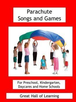 Parachute Songs and Games   dans prescolari   Pinterest ...