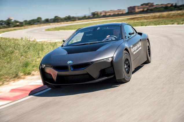 BMW's Hydrogen-Powered i8 Prototype Looks Like Robocop's Dream Ride