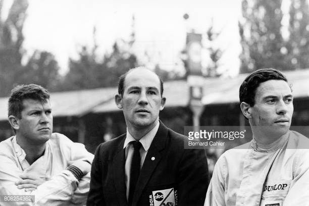 Jim Clark Stirling Moss Ronnie Bucknum Grand Prix of Italy Monza 06 September 1964