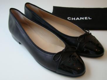 002f585c25d7 Chanel Ballerinas Black | Shoes | Kläder