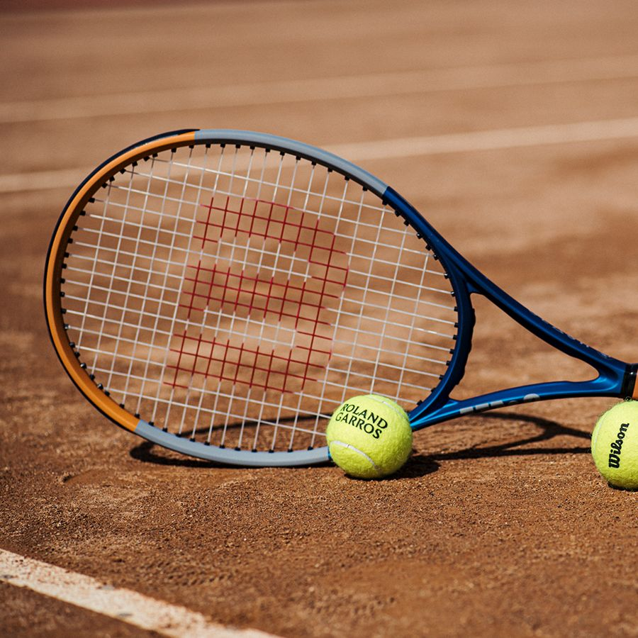 Wilson Clash 100 Limited Edition Roland Garros Tennis Racquet 249 00 Wilson Tennis Racquets Tennis Racquet Racquets
