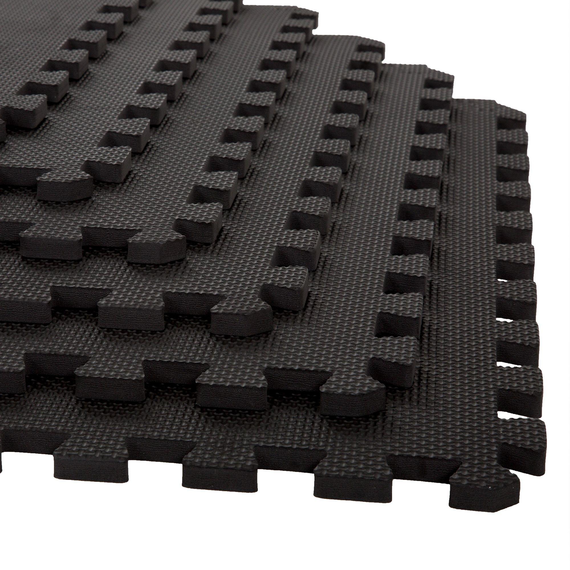 Stalwart interlocking eva foam floor mats interlocking foam floor stalwart interlocking eva foam floor mats interlocking foam floor mats black 24x24x0375 dailygadgetfo Gallery