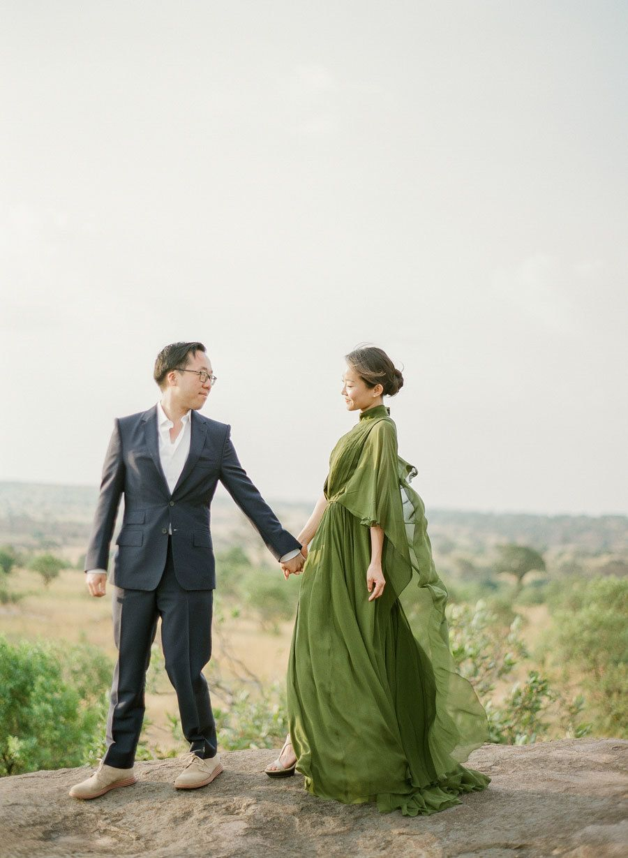 African Anniversary Session For the AdventureLoving