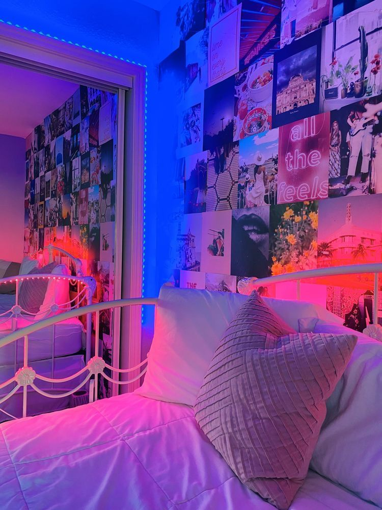 Aesthetic Ceiling Led Lights Room