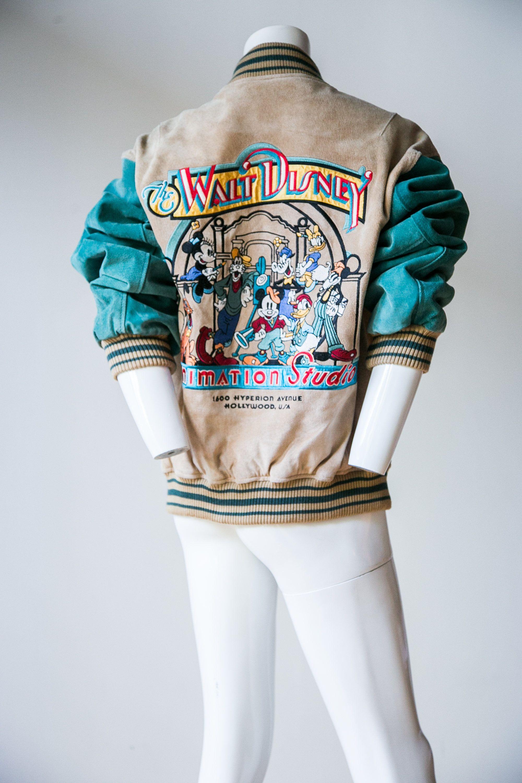 Disney clothing adult disney leather jacket disney
