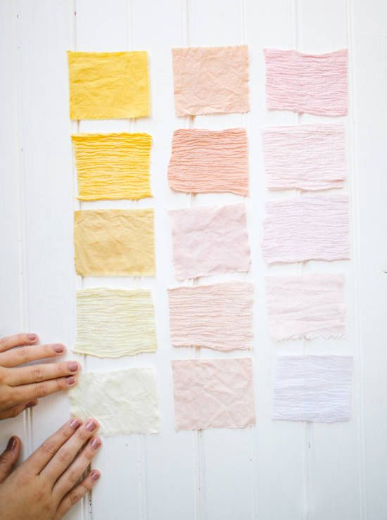 fabric dyeing diy designlovefest diy pinterest teinture couleurs et palette couleur. Black Bedroom Furniture Sets. Home Design Ideas