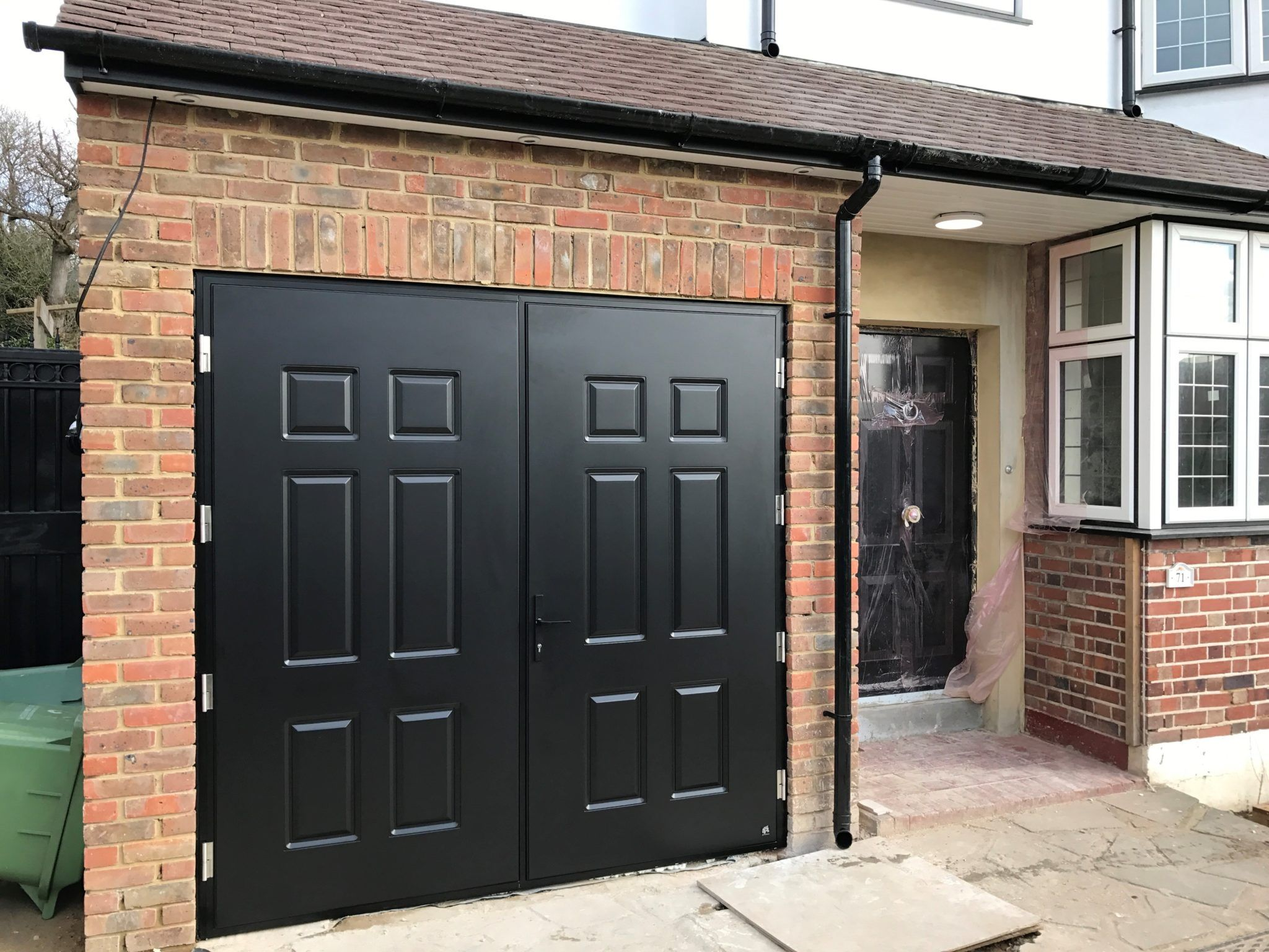 Garage doors with a personal touch Custom made garage