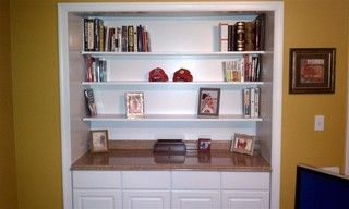 Built-In Closet Conversion - Traditional - dc metro - by Image Contracting