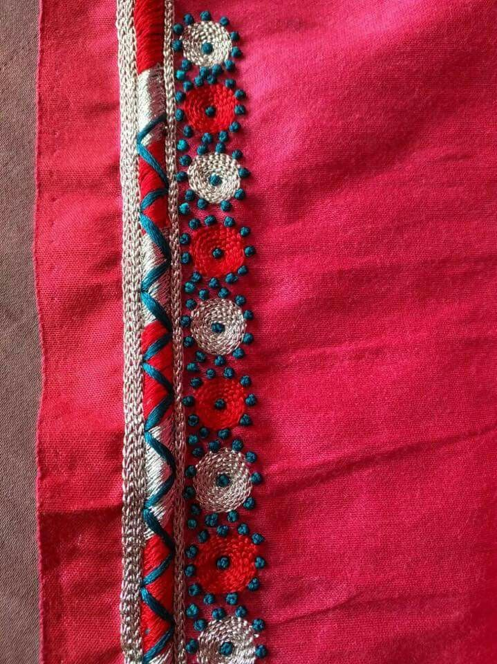 Pin de Madhuri Reddy en my blouses | Pinterest | Puntadas, Bordado y ...
