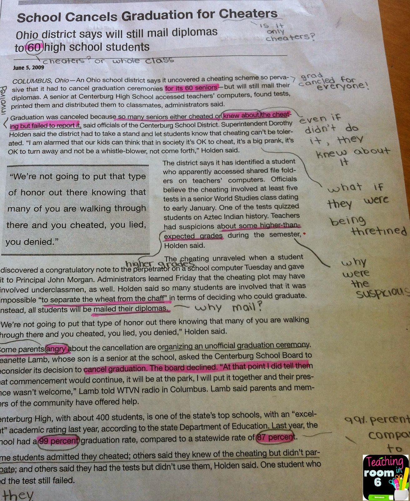Teaching In Room 6 Written Conversations Ds Talk