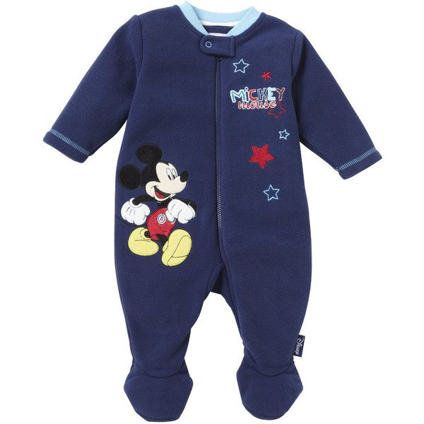 Mickey Mouse Walk-in-Sleeper ($20) ❤ liked on Polyvore featuring baby, baby boy and roupas crianças