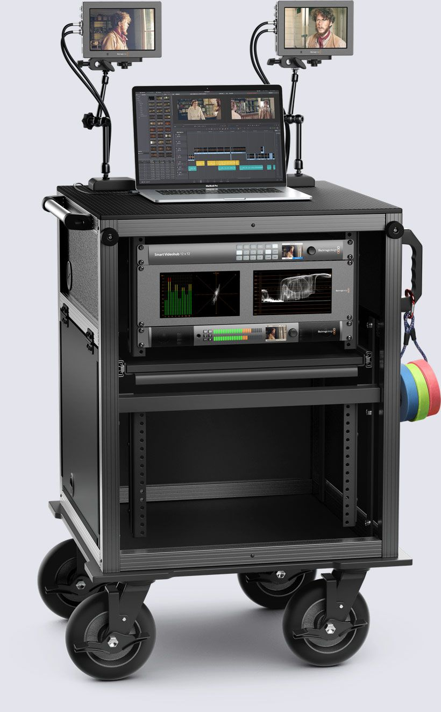 Blackmagic Video Assist Workflow Blackmagic Design Home Recording Studio Setup Photography Studio Design Recording Studio Setup