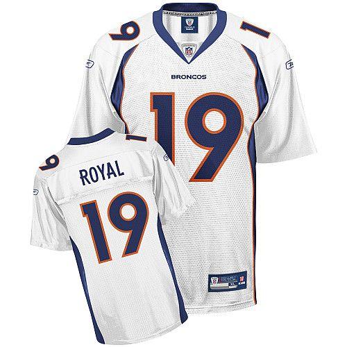 20469165b ... Reebok Oakland Raiders JaMarcus Russell 2 White Replica Jerseys Sale  Reebok Denver Broncos Eddie Royal 19 ...