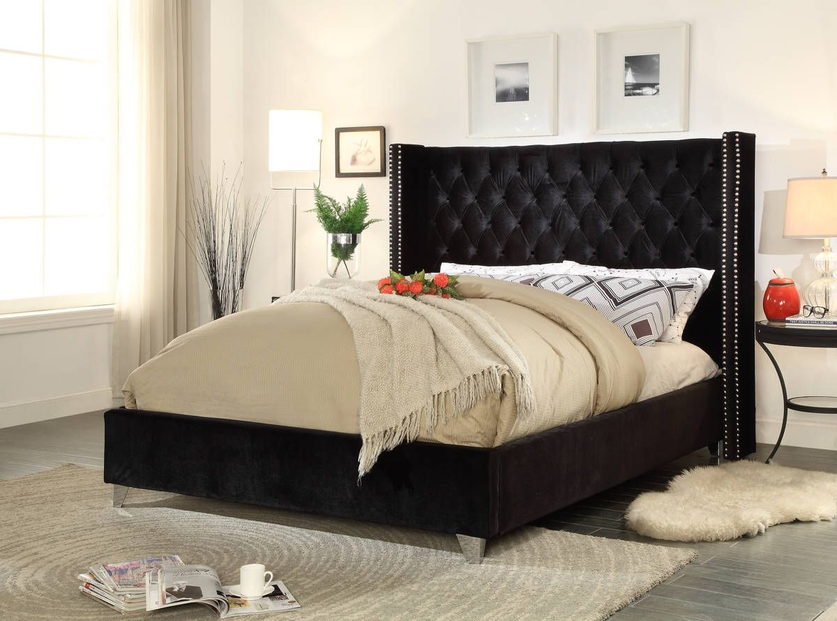 tufted fullxfull king row listing size velvet il black headboard a tall extra zoom with