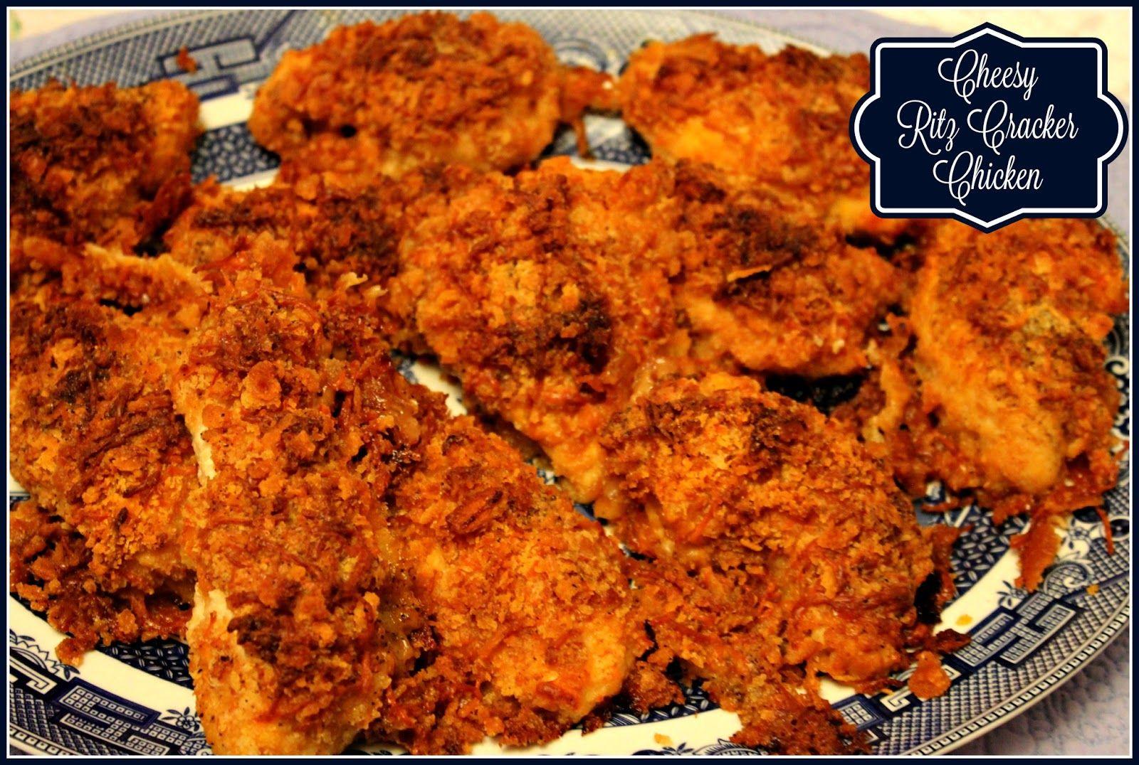 Cheesy ritz cracker chicken ritz cracker chicken