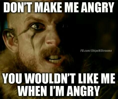 Do not be angry with me