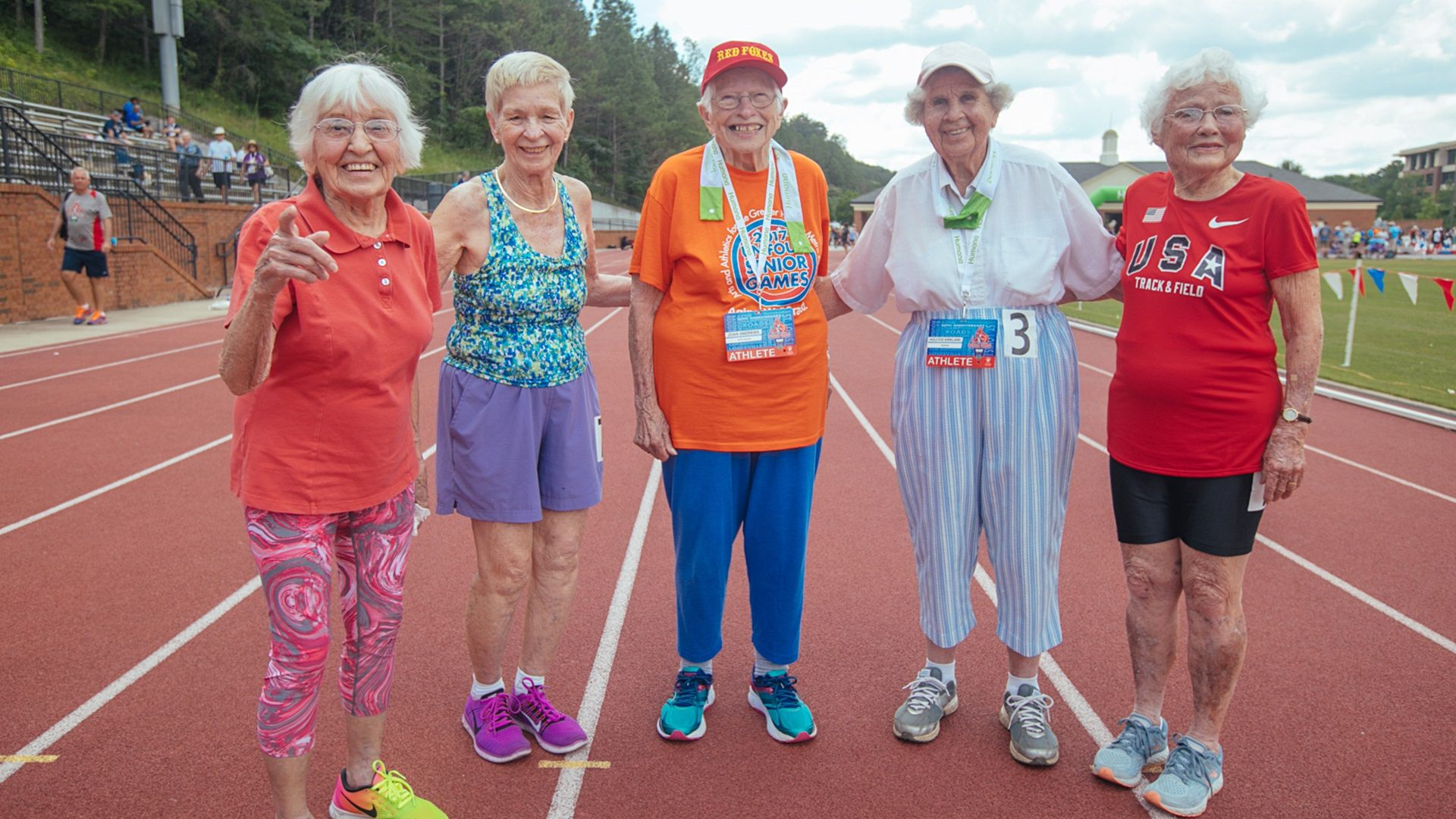 Age Is Nothing but a Number for Senior Games Competitor