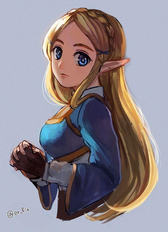 No Larger Size Available Legend Of Zelda Zelda Art Breath Of The Wild