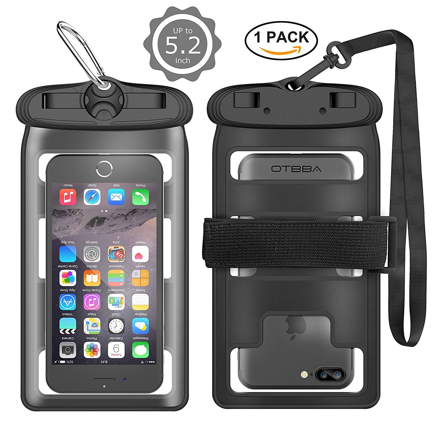 Extreme World Dry Bag For Outdoor Sports Waterproof Phone Case