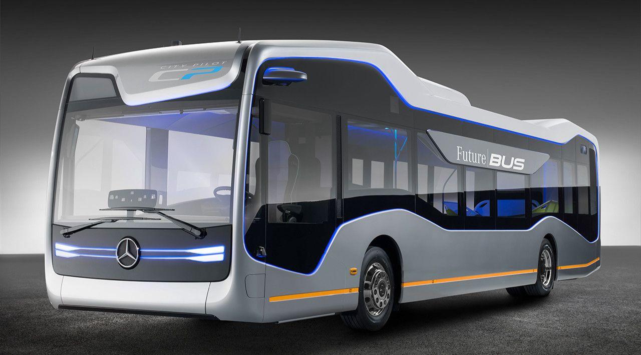 Future Bus Revolutionares Design Mercedes Busse Mercedes Benz
