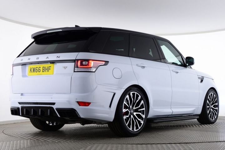 Used Land Rover Range Rover Sport Sdv6 Hse Urban Rrs White For Sale Essex Kw66bhf Saxton 4x4 E Auto
