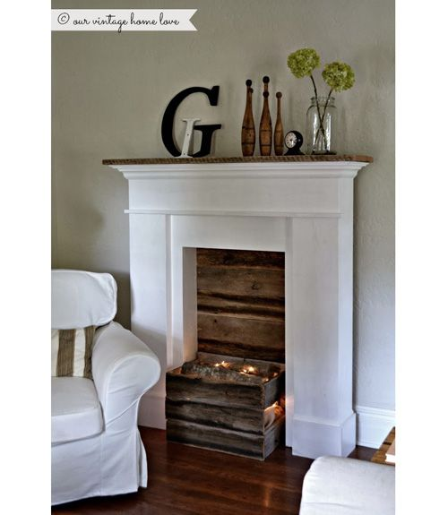 18 Ways To Dress Up Your Fireplace (No Fire Necessary