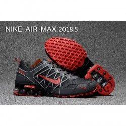 Mens Nike Air Max 2018.5 Running Shoes Dark Green