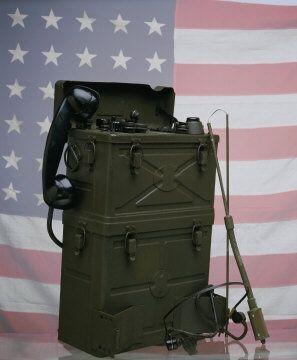 Galvin Manufacturing Corporation (Motorola) walkie-talkie