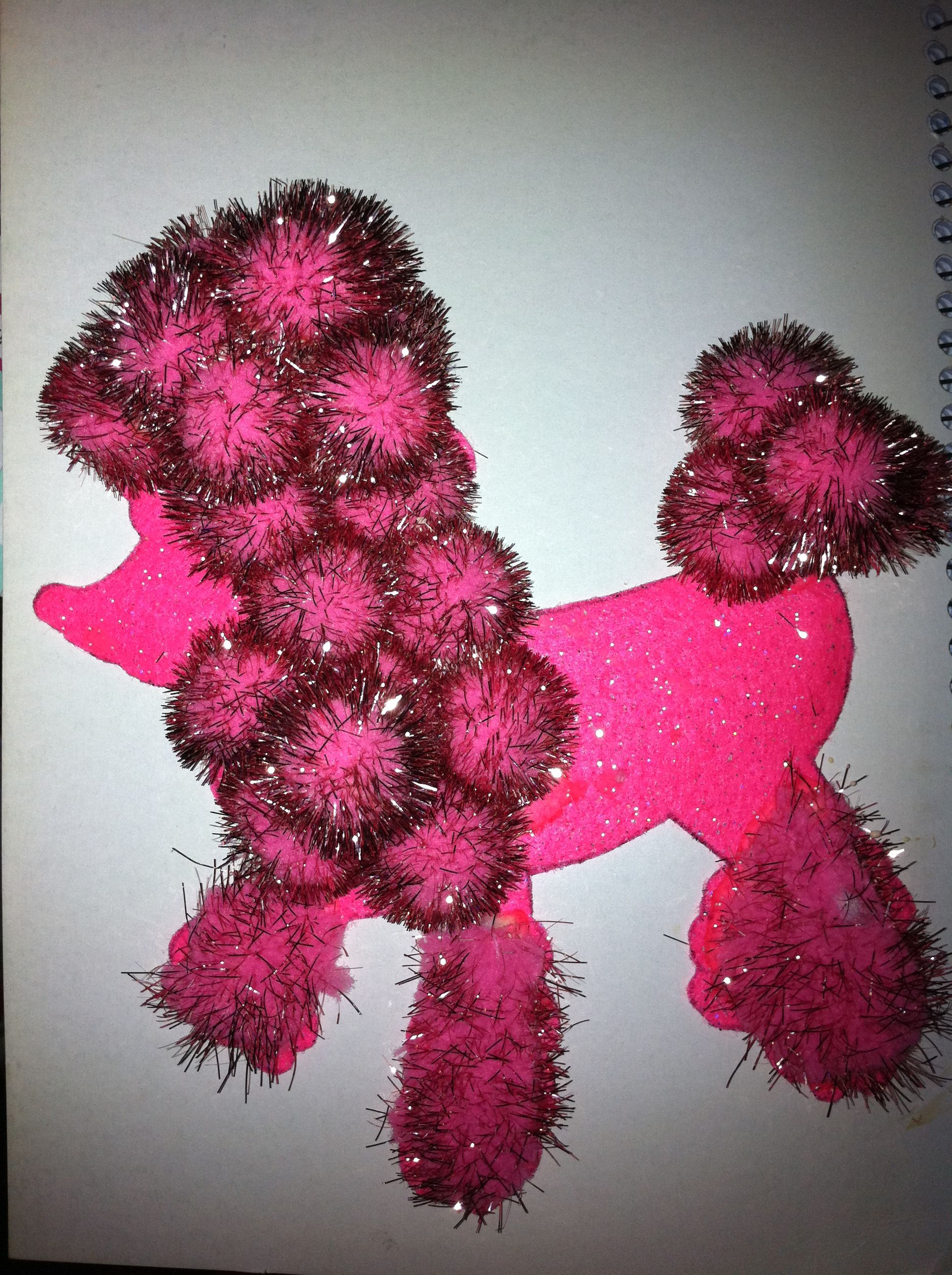how to make a poodle for a poodle skirt