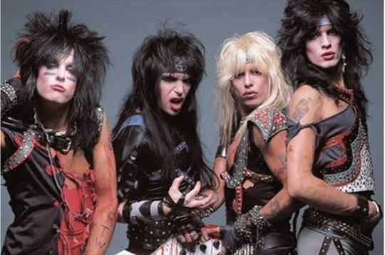 Motley Crue fashion