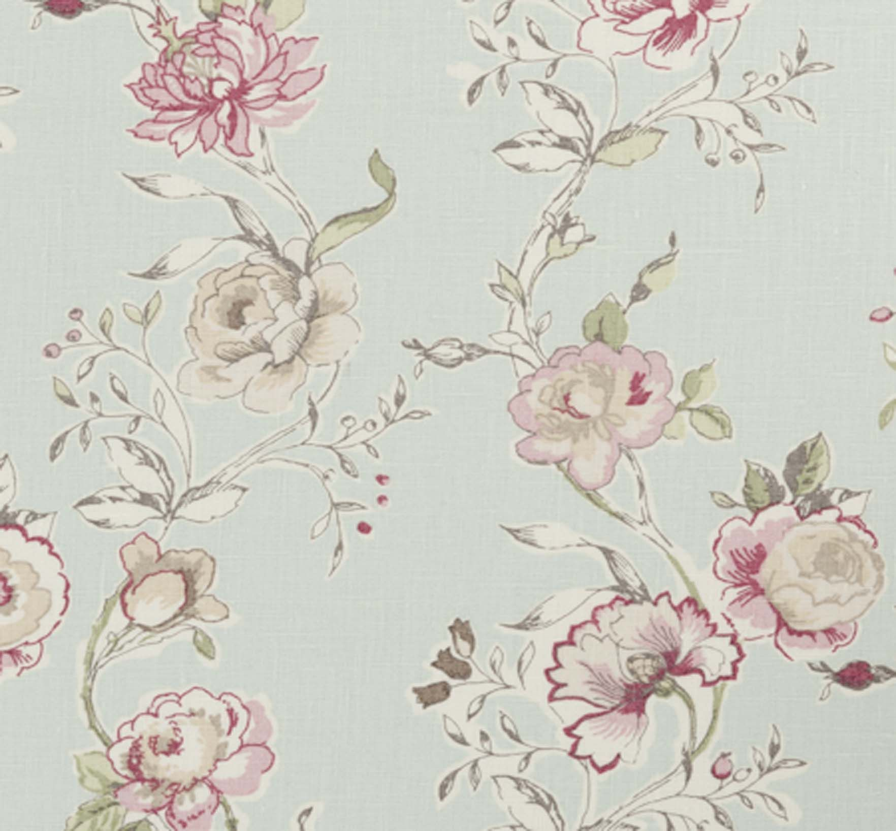 Clarisse Duckegg Wallpaper 24 99 Roll From Dotty Brown Fabric Decor Made To Measure Curtains Printed Linen Fabric
