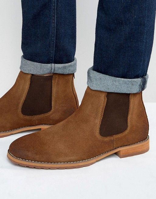 Spring Draun Suede Chelsea Boots