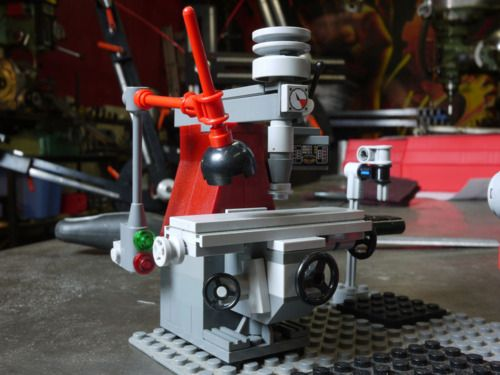 Lego milling machine Awesome  Milling Machines