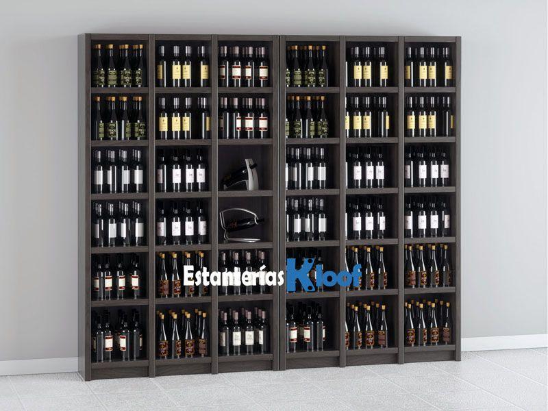 Gourmet kloof estanter a para botellas de vino modular - Estanterias para botellas ...