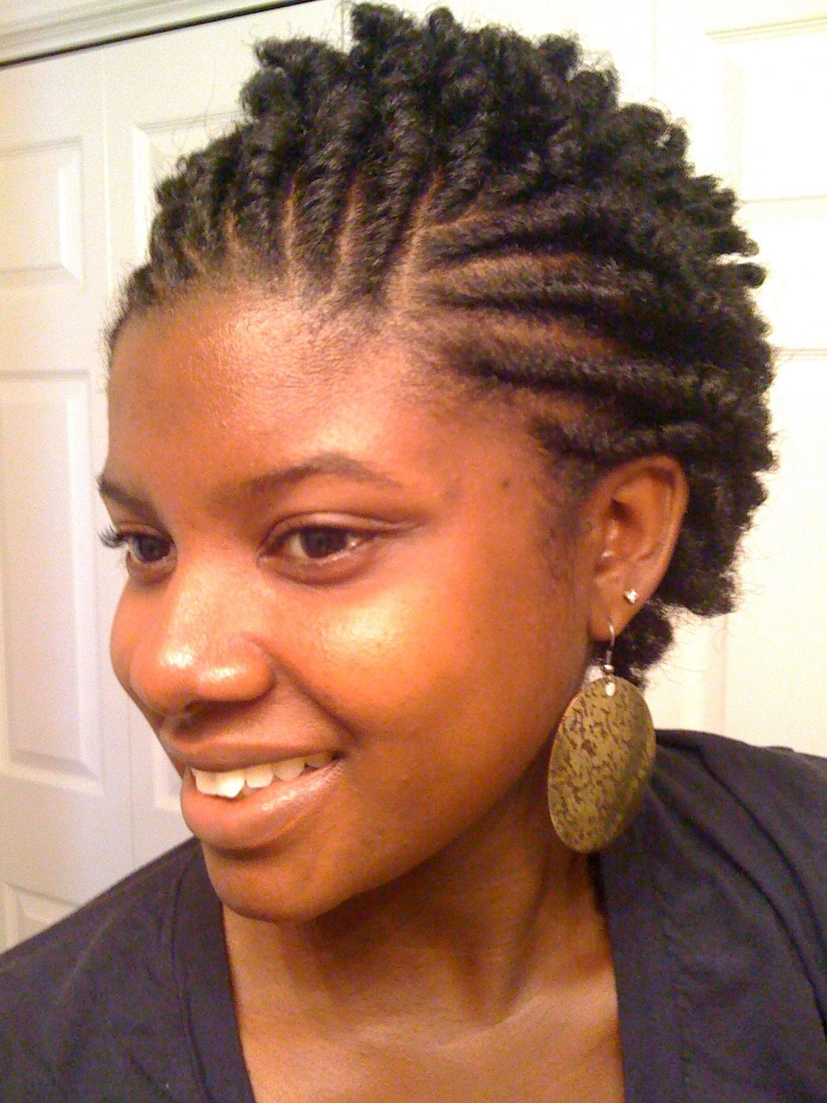 These 3 Cute Flat Twist Hairstyles Take Winning Prize