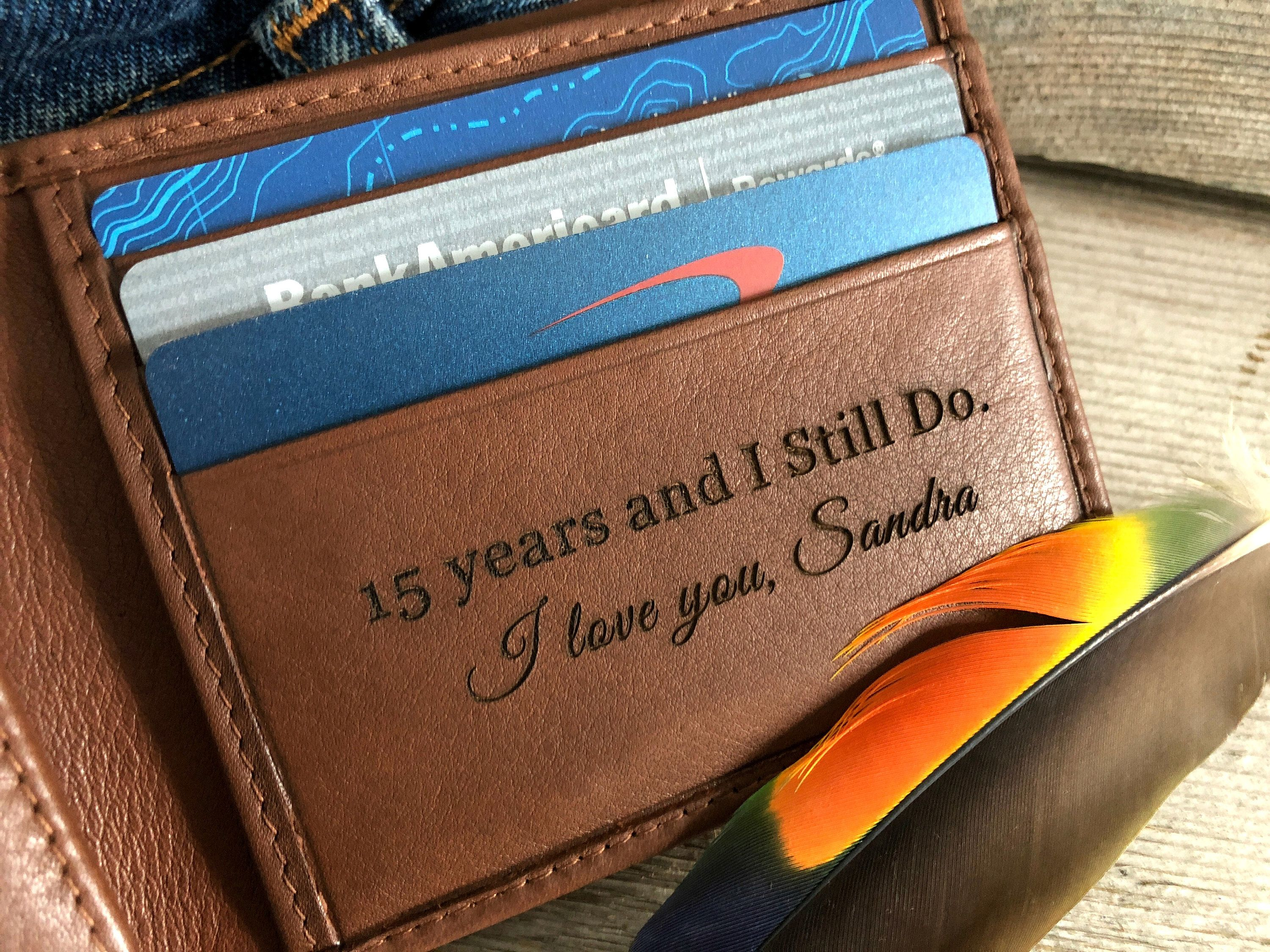 15th anniversary gifts for man • 15 years anniversary gift