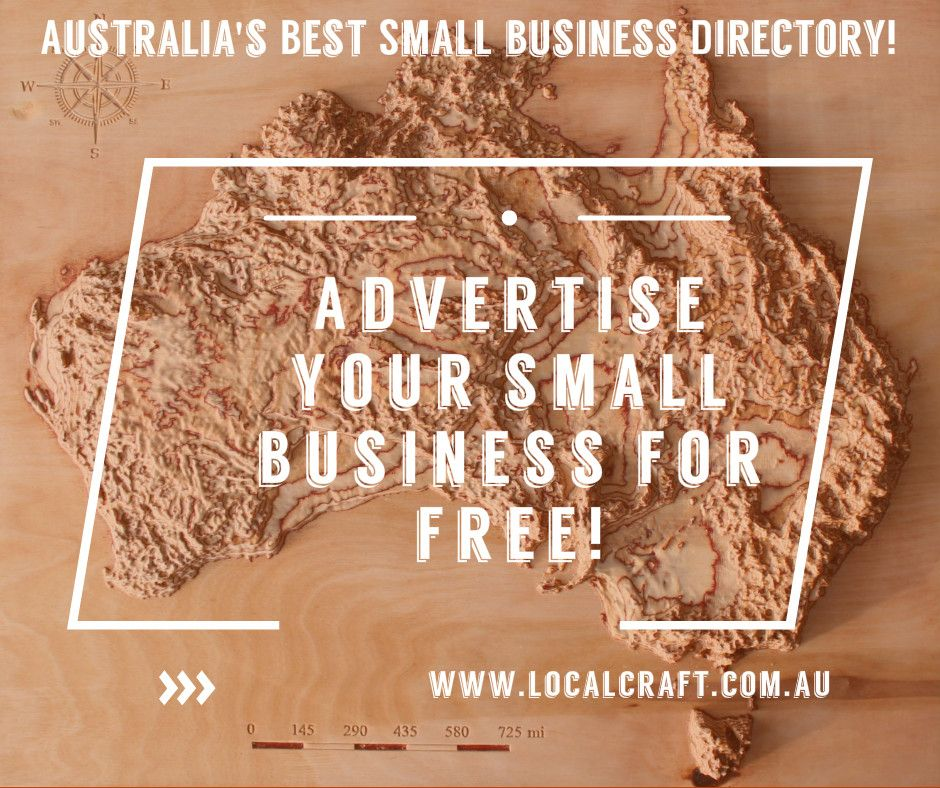 Localcraftcomau is a unique australian directory that has been localcraft business directory australia for local businesses craftspeople we offer initial free advertising for small businesses reheart Choice Image