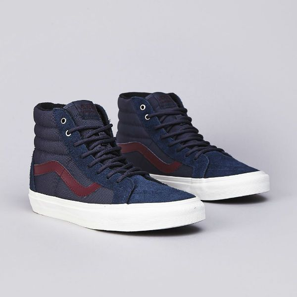 Vans Sk8-Hi Reissue California Desert Suede / Ombre Blue. Want for fall