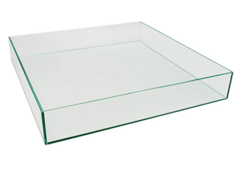 Find This Low Square Clear Glass Vasetray On Houzz Florist