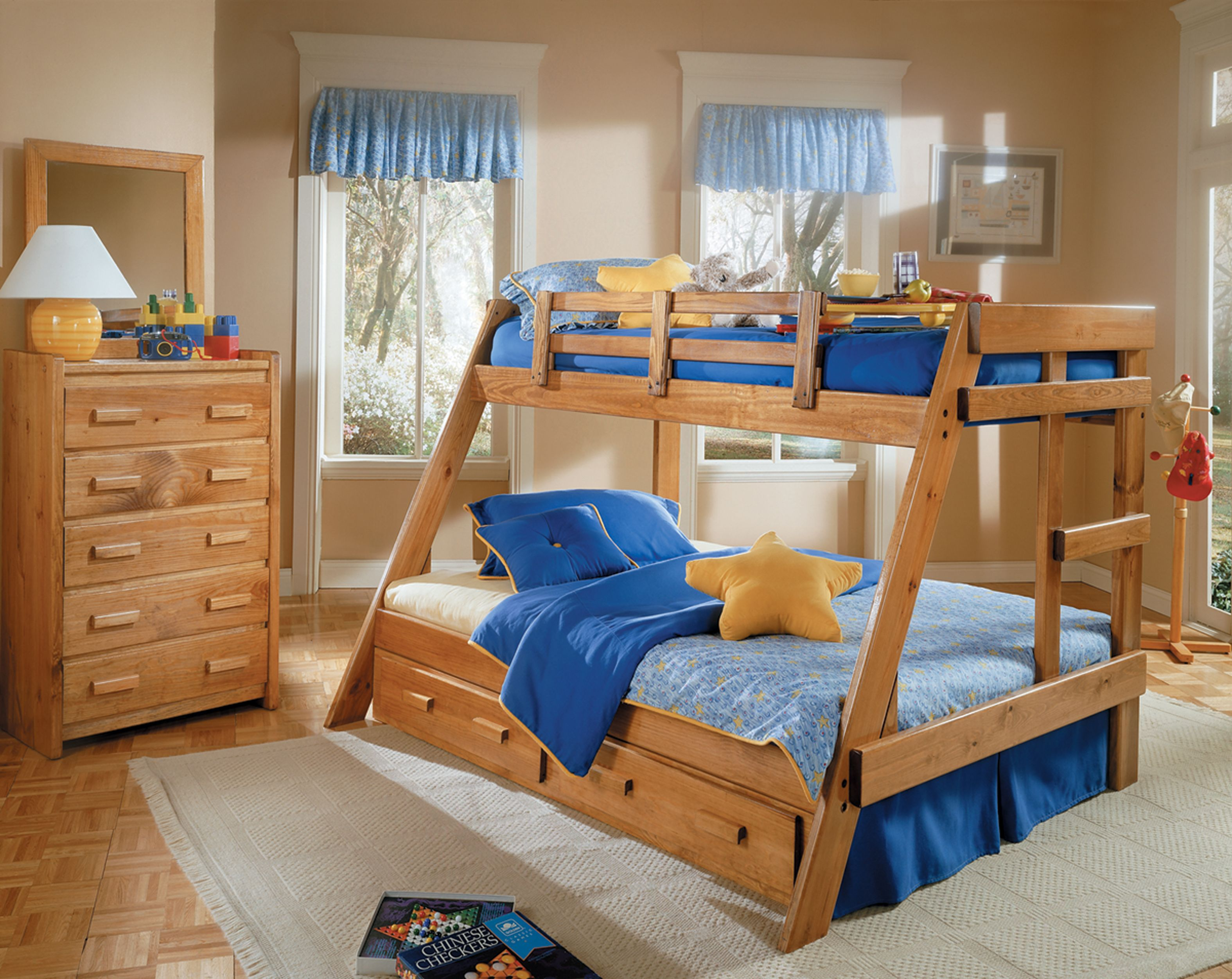 Full Size Bunk Bed With On Bottom