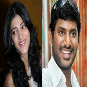 Vishal Shruthi Hassan's Movie Titled 'Poojai' | The Hyderabad Times