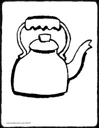Wasserkessel Kiddimalseite Ausmalbilder Zeichnungen Malvorlagen