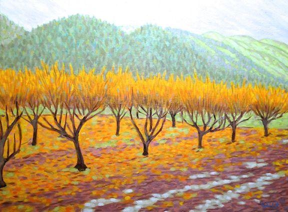 Charles de Limur; Oils, Pastels, Watercolors, Block printing, Silkscreen NVOS 2014 - Studio #2 Calistoga, CA 94515 www.CharlesdeLimur.com www.NapaValleyOpenStudios.org