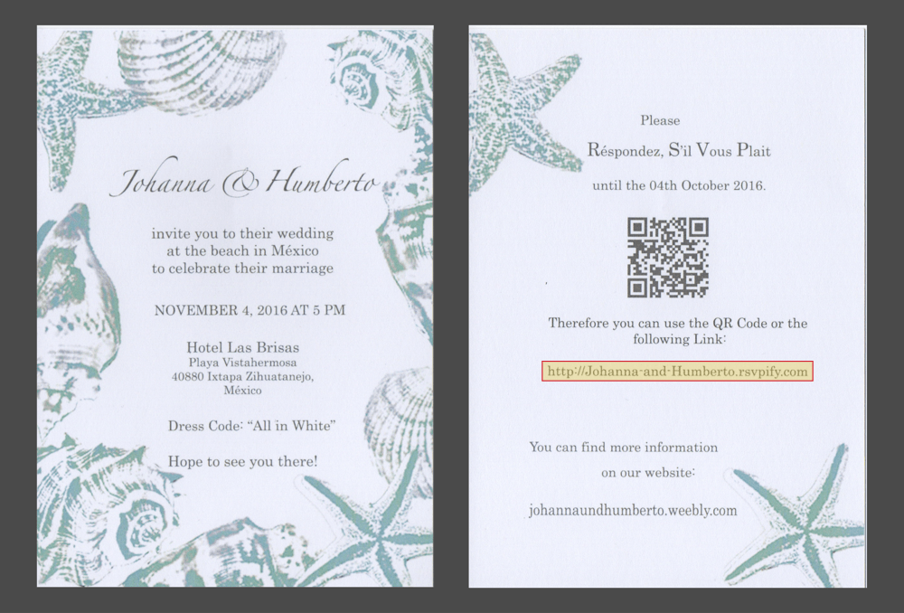 Send paper wedding invitations and collect digital RSVPs | RSVP ...