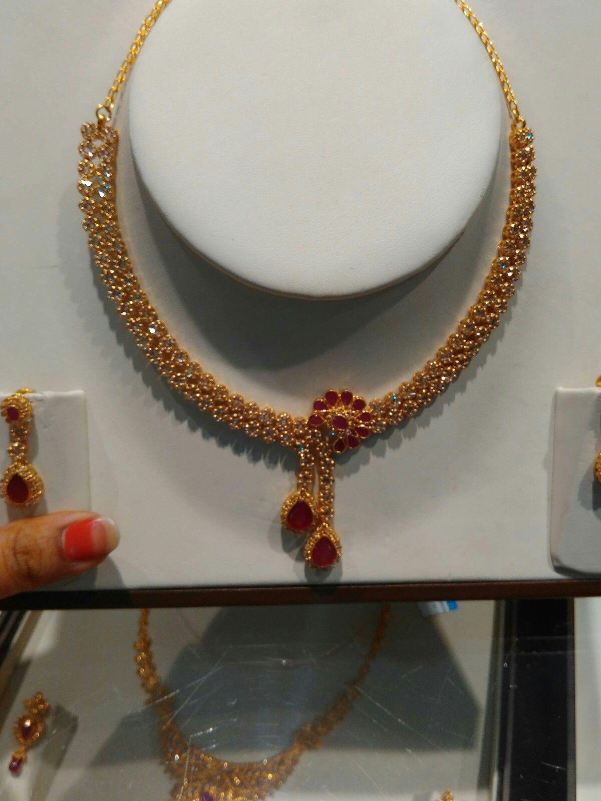 Tanishq polki jewellery uncut diamond jewelry p pinterest